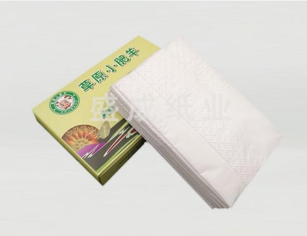 扑克盒餐巾纸
