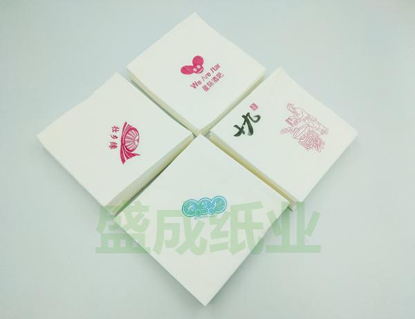 印花方巾餐巾纸价格