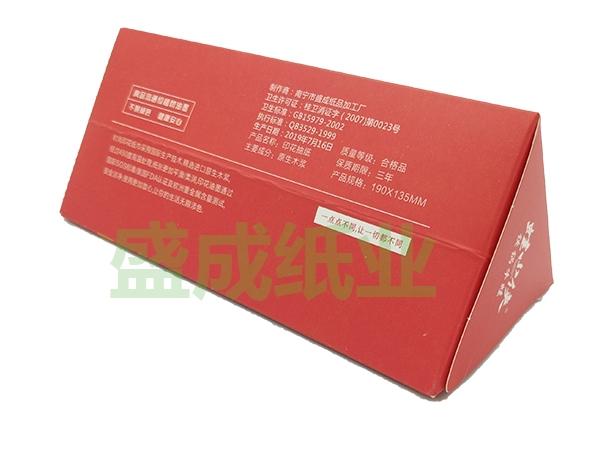 广告定制盒装餐巾纸
