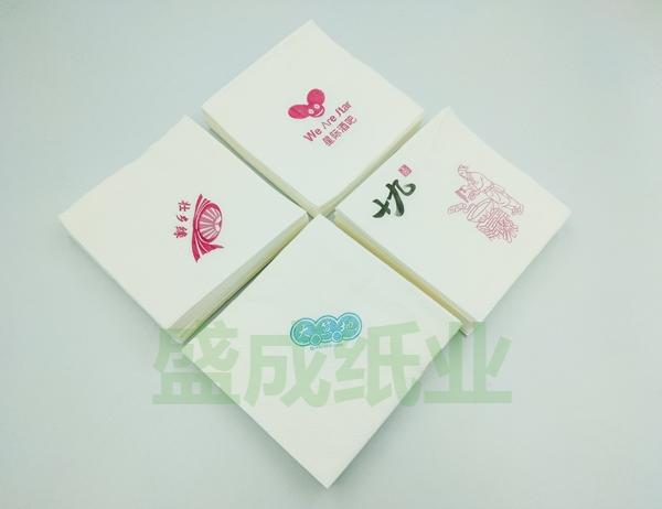 广告定制印花餐巾纸