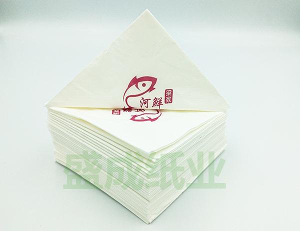 印花餐巾纸定制、印花方巾餐巾纸